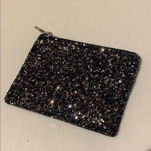 Madewell glitter coin purse